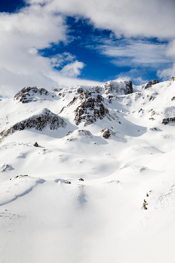 Free Alps In Winter Stock Images - 12920984