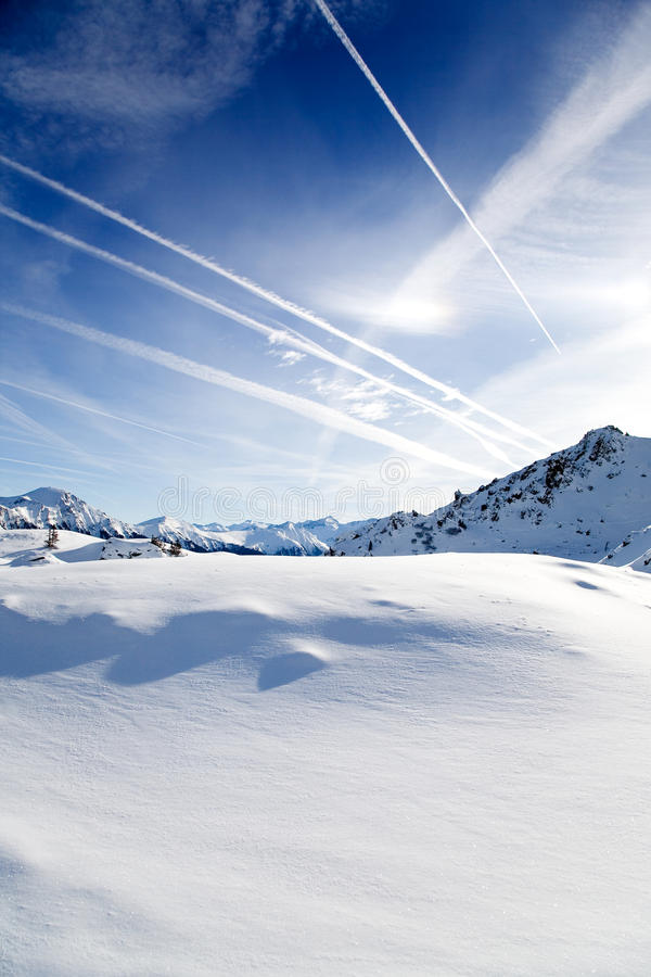 Free Alps In Winter Royalty Free Stock Photo - 12921955