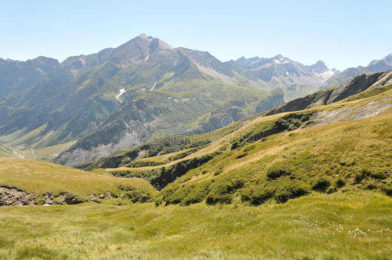 Download Alps landscape stock image. Image of grass, outdoors - 16104769