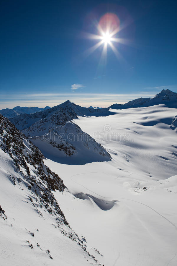 Download Alps landscape stock image. Image of icecap, height, holiday - 18218451