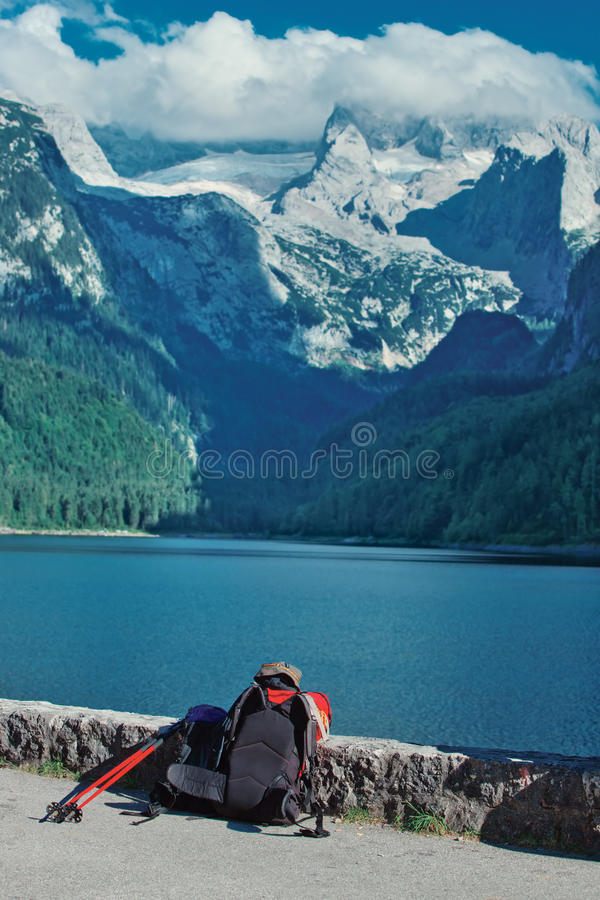 Download Alps mountain landscape stock image. Image of beautiful - 28606405