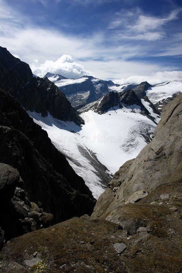Alps mountains in Austria stock image