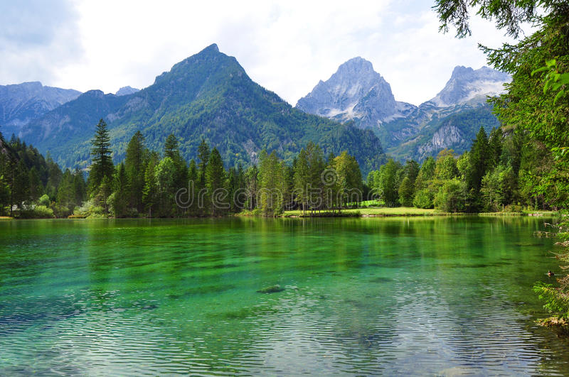 Alps mountains landscape royalty free stock images