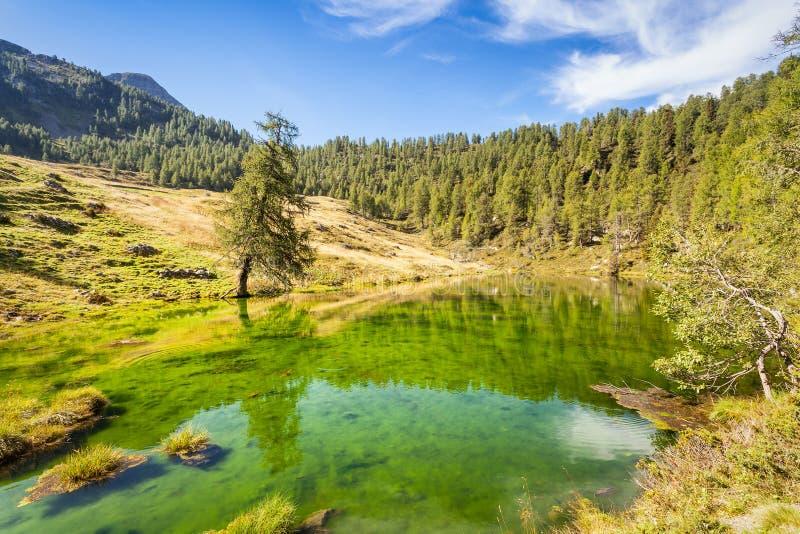 Alps Orobie Valtellinesi. Casera lake - Sondrio stock photos