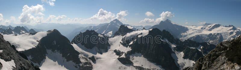 Alps panorama royalty free stock image