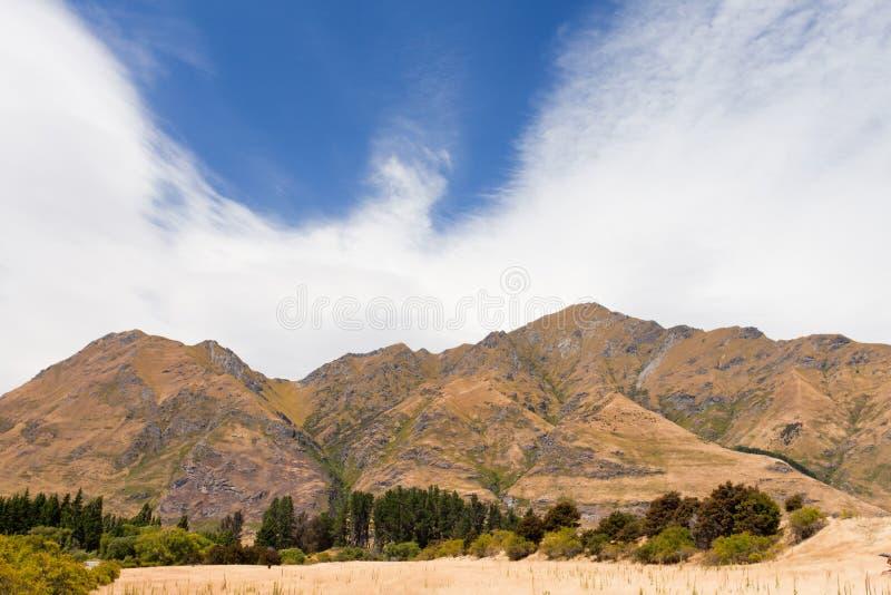 alps pięknych pobliski nz szczytu roys południowy wanaka obrazy stock