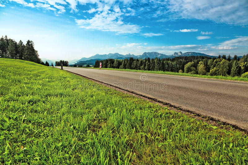 Download Alps road stock image. Image of rural, vibrant, mountain - 19798339