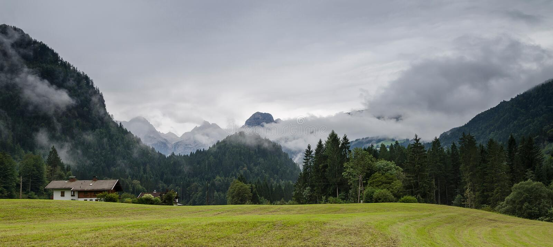 Alps, Salzburgerland, Austria obraz stock