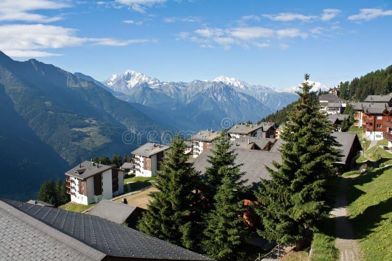 Download Alps in sky resort stock photo. Image of switzerland - 27209488