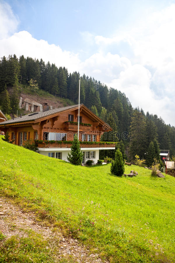Download Alps Village Royalty Free Stock Images - Image: 12089059