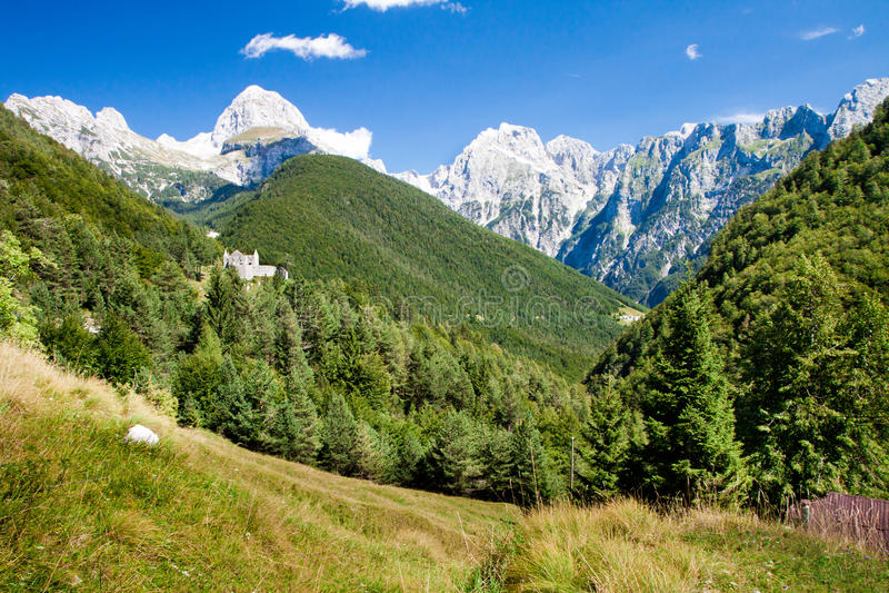 Alps w Slovenia obraz royalty free