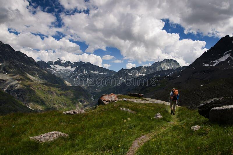 alps Wallis zdjęcia stock