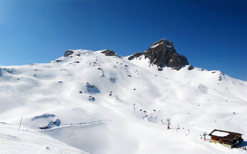 alps zima zdjęcia royalty free