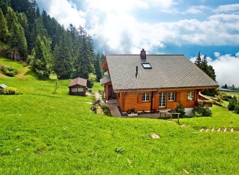 Download Alpsby fotografering för bildbyråer. Bild av natur, schweizare - 19798347