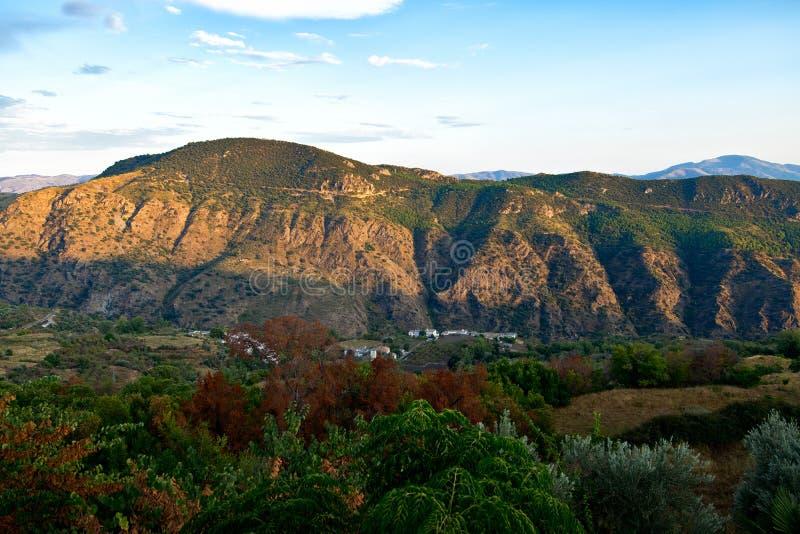 Alpujarra in Andalucía. stock photo