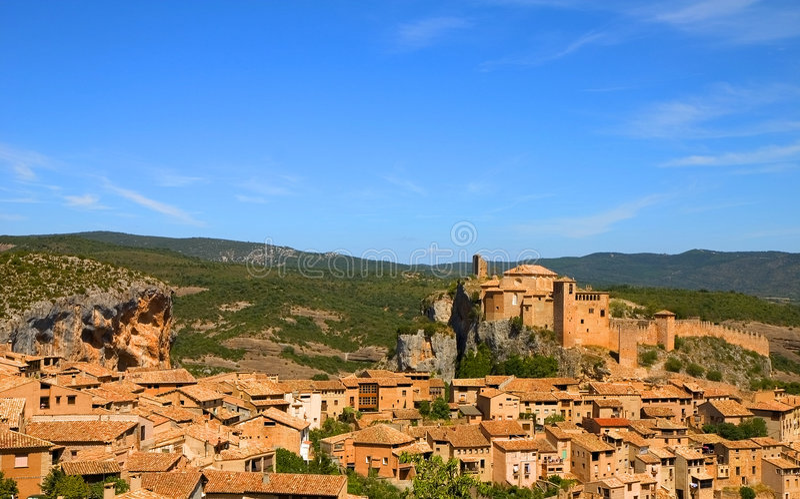 Download Alquezar, Huesca, Spain stock image. Image of huesca, legacy - 1423027