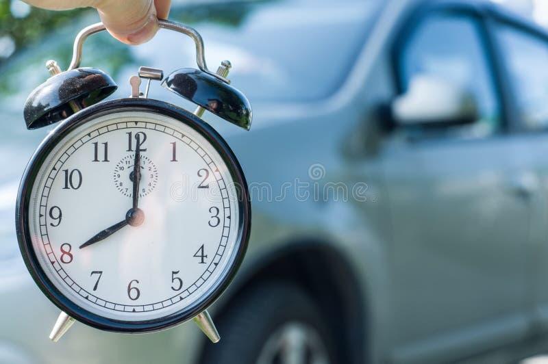 Alquile un coche a tiempo foto de archivo libre de regalías