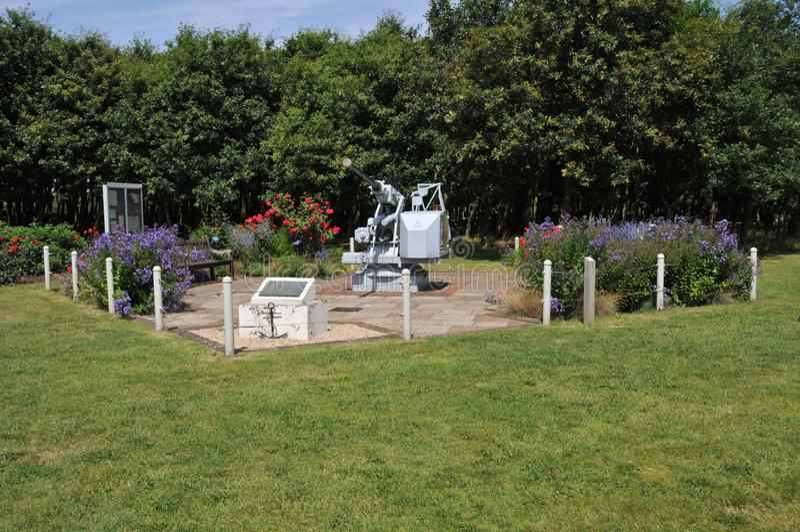 Alrewas全国纪念树木园- D e M S 纪念庭院 库存图片