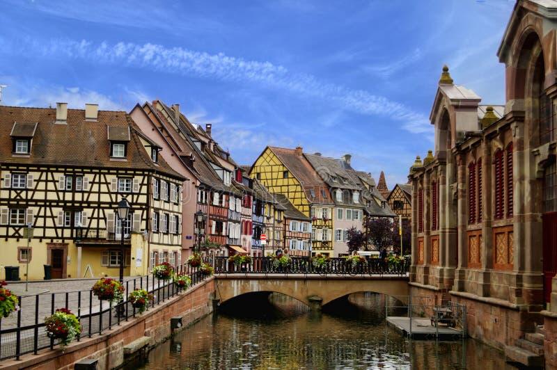 Alsácia bonita, França fotografia de stock