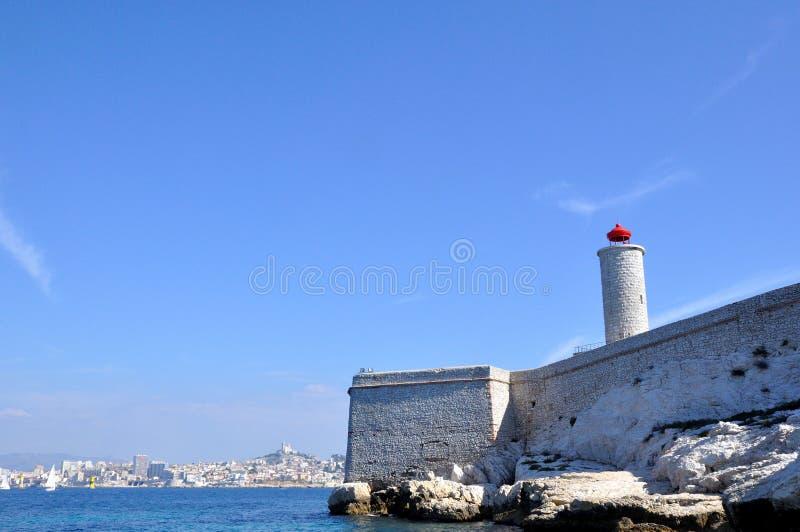 Als Eiland, Marseille, Frankrijk stock foto's