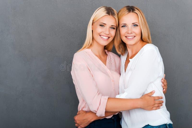 Als Moeder zoals Dochter royalty-vrije stock foto's