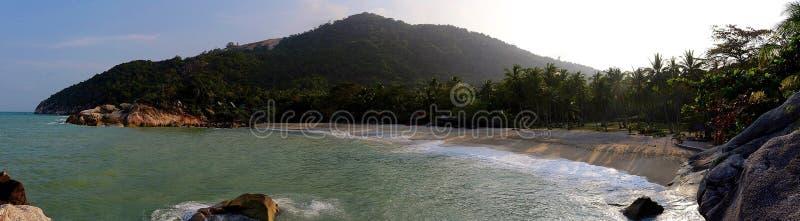 Als Sadet-Strand Koh Phangan Thailand lizenzfreies stockfoto