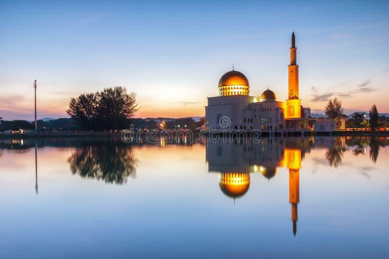 Als salam moskee royalty-vrije stock foto