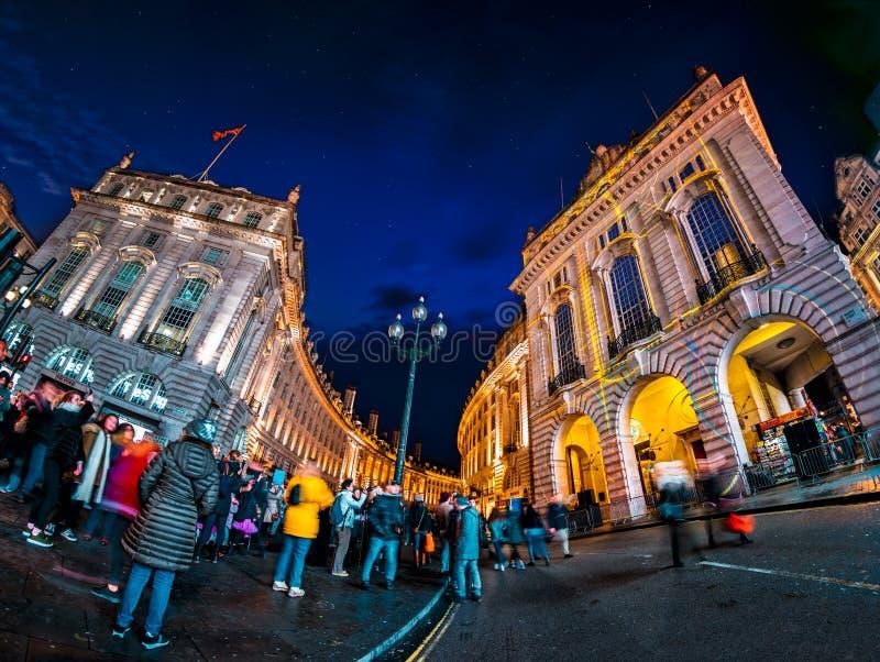 Als Teil Lumiere London stockfotografie