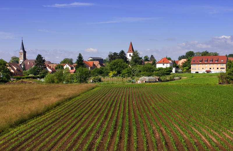 Alsace royalty free stock image