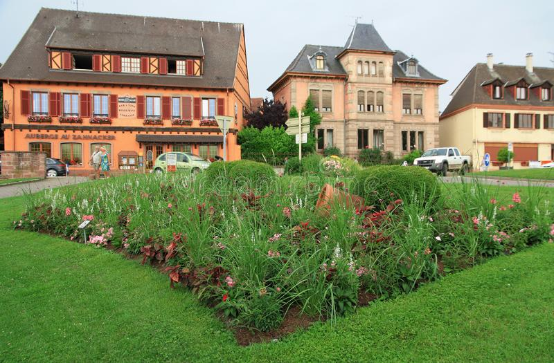 alsace Riboville royalty-vrije stock afbeelding