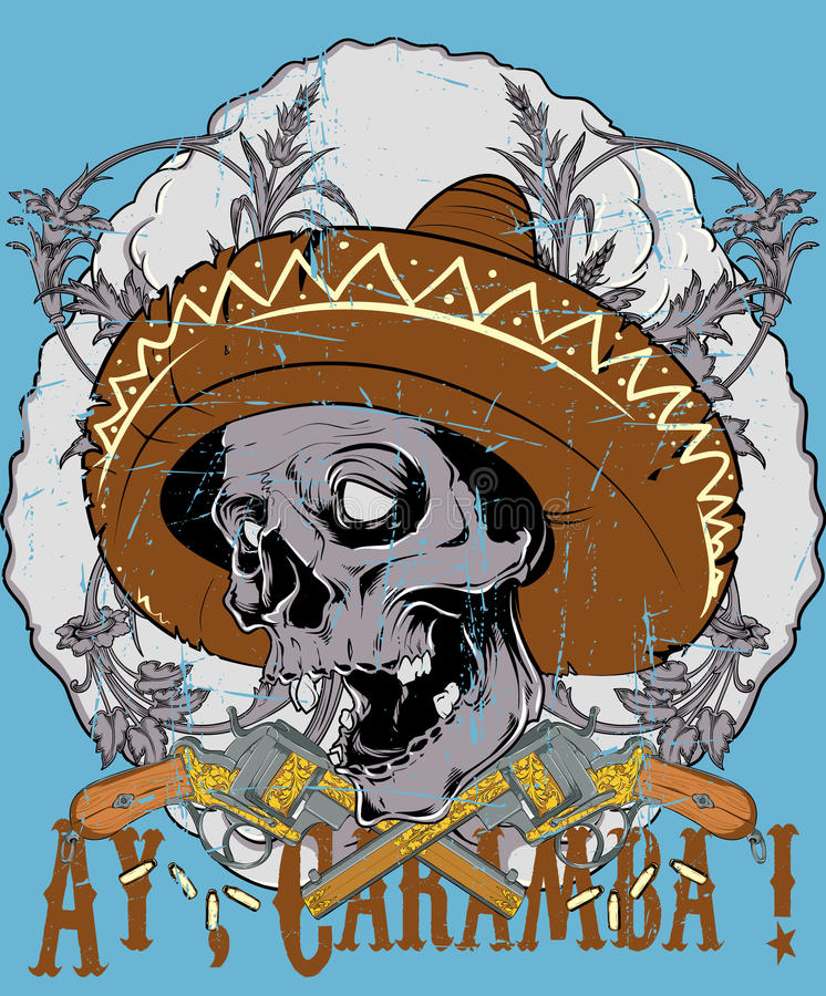 Ay caramba royalty free illustration