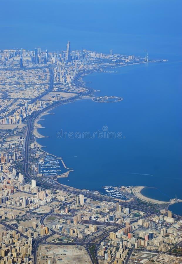 alstad kuwait royaltyfria foton