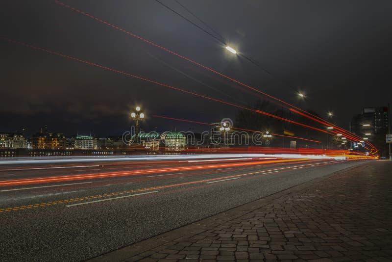 Alster w Hamburg zdjęcie stock