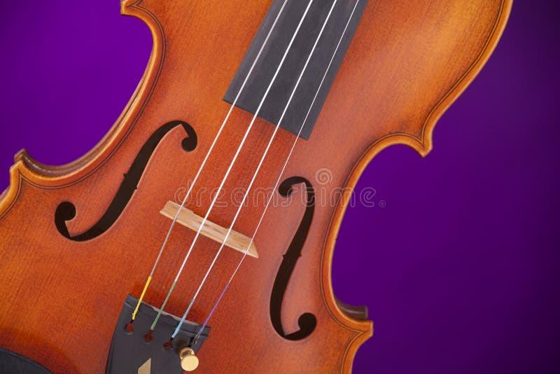 altówka odosobniony purpurowy skrzypce obrazy royalty free