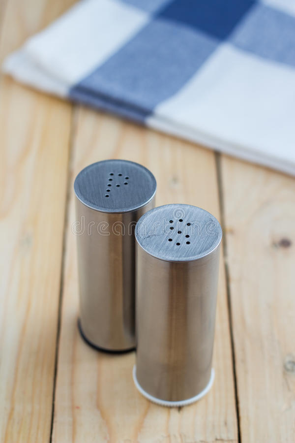Alt and pepper shakers royalty free stock photography