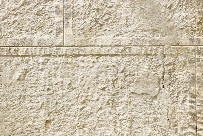 Alt, Zusammenfassung, alter Hintergrund des beige Gipses, Zement, Gips lizenzfreies stockfoto
