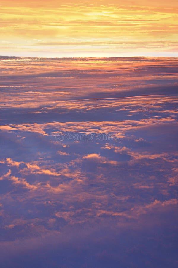 Alta altitud Skyscape fotografía de archivo libre de regalías