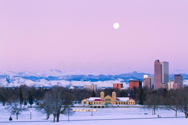 Alta ciudad de la milla de Denver fotos de archivo