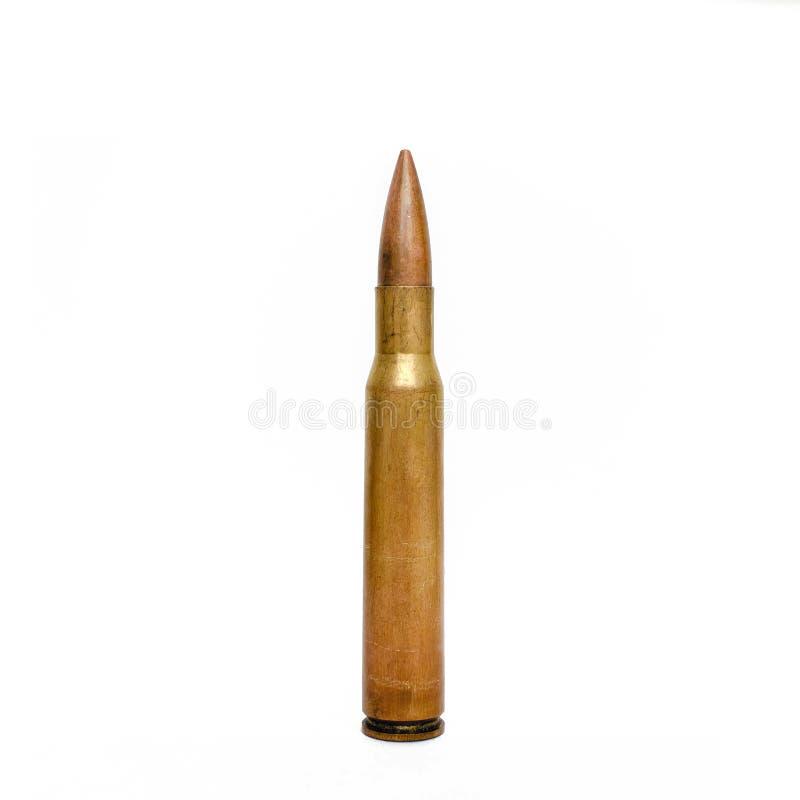 Alta pallottola del fucile di calibro fotografia stock