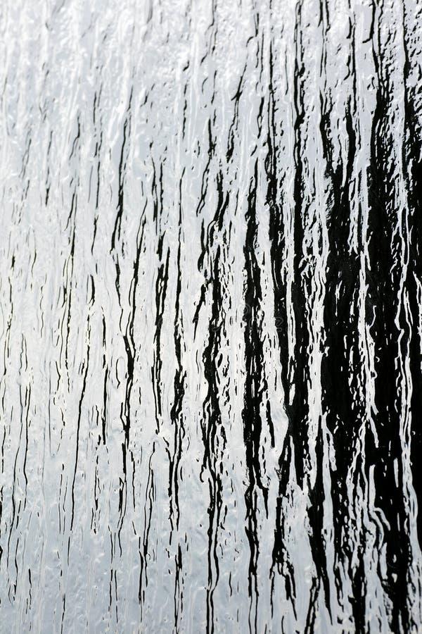 Alta qualità astratta del fondo di vetro di finestra macro immagini stock
