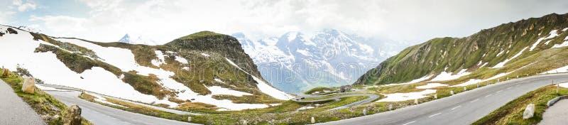 Alta strada alpina di Grossglockner in Austria fotografie stock
