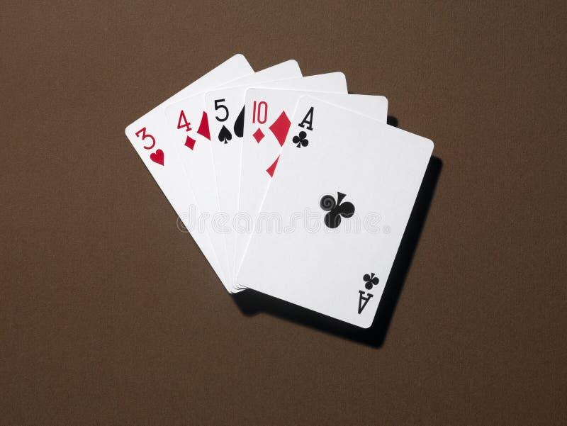 Download Alta tarjeta foto de archivo. Imagen de estafador, casino - 7289072