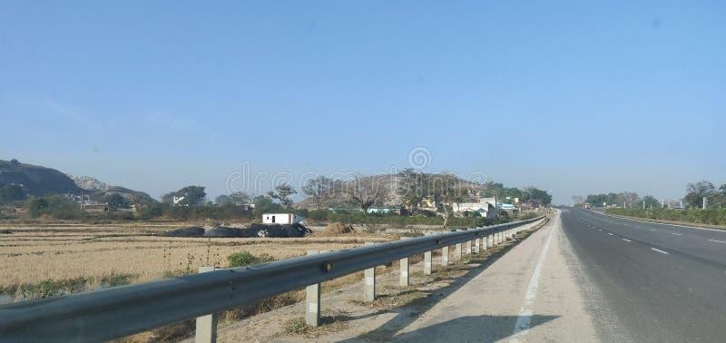 Alta vía cerca de Balsiring, Ranchi, India imagen de archivo