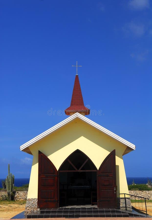 Download The Alta Vista Chapel In Aruba Stock Images - Image: 20354414