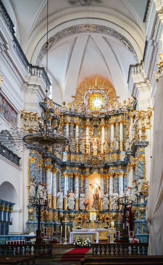 Altaar van de Kathedraal royalty-vrije stock afbeelding