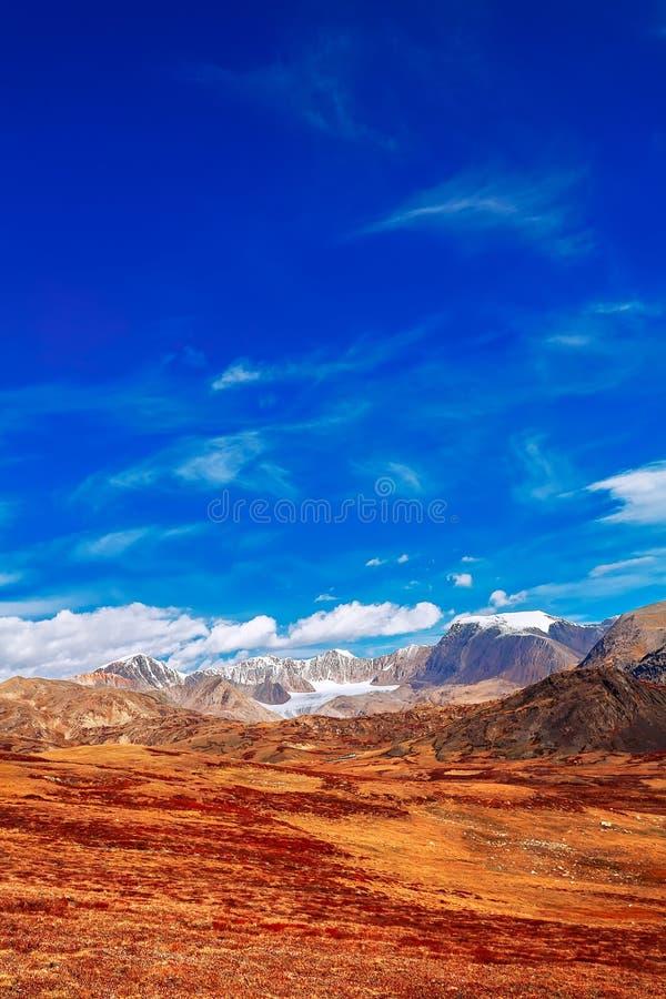 Altai-Berge Sibirien Russland stockfoto