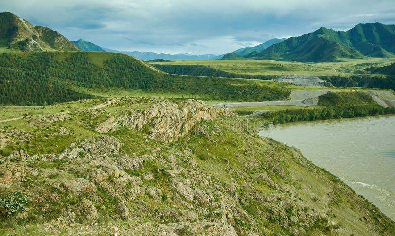 ?Altai 免版税库存图片