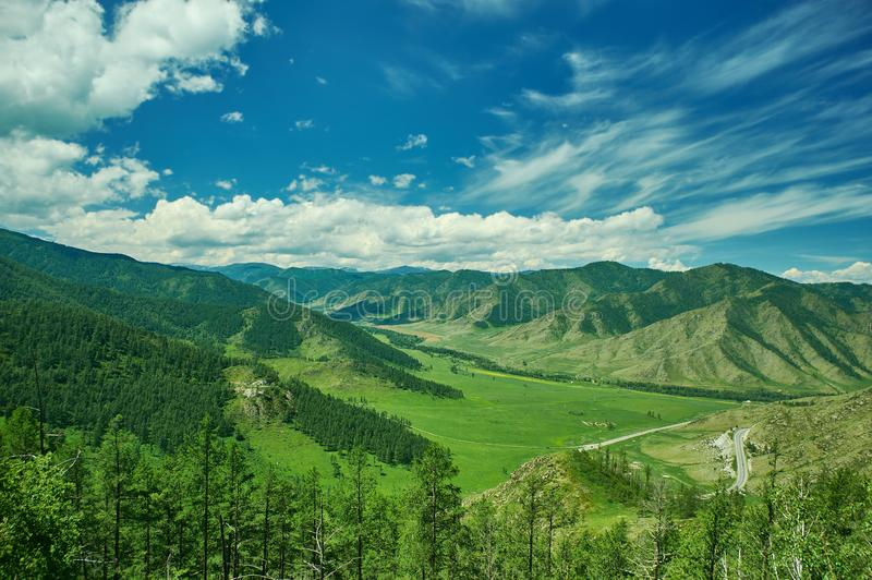 ?Altai 免版税库存照片