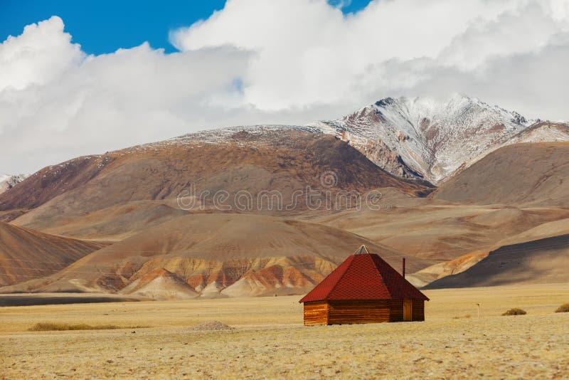Altai indispone in montagne La Russia Siberia immagini stock libere da diritti