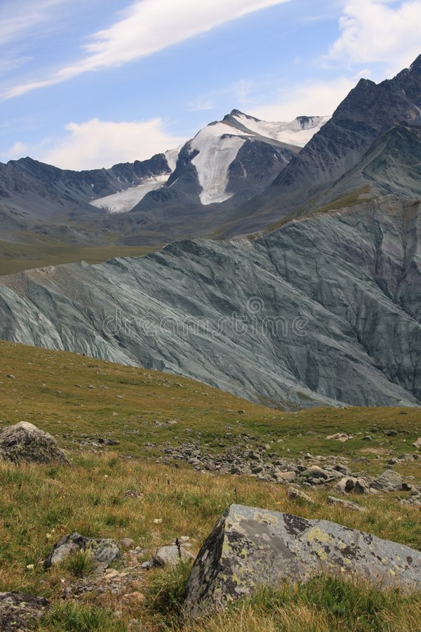 Altai Mountain in summer royalty free stock photo